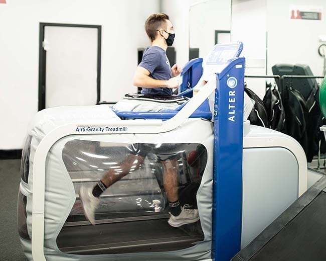 Alter G Treadmill provides a new way to exercise and rehabilitate without putting pressure on your joints
